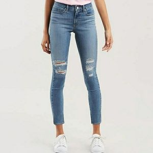 NWT Levi's 711 skinny ankle